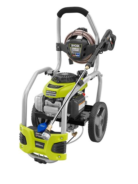 ryobi 3100 psi 2 5 gpm direct drive gas pressure washer