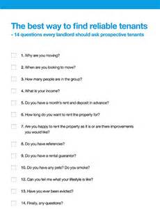 How To Do A Background Check On Tenants 14 Questions Every Landlord Should Ask Prospective Tenants This Is Money