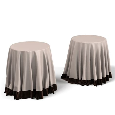 draped table 3d drape models max 3ds obj fbx blend