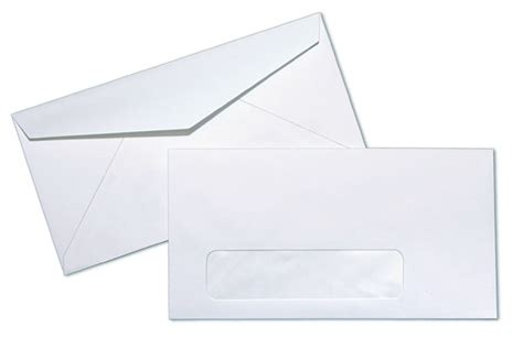 standard window envelope template monarch 24lb white wove standard window commercial