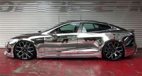 modified tesla model s punches above its weight