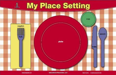 table setting manners placemat home garden kitchen