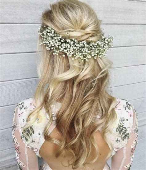 Wedding Hairstyles Half Up Half Wavy by Half Up Half Wedding Hairstyles 50 Stylish Ideas