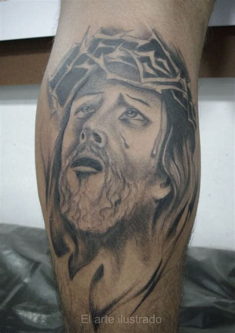 crying tattoo jesus tattoos and designs page 43