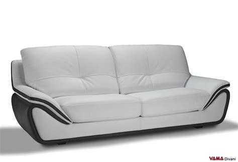 divani in pelle divano in pelle moderno bianco schienale alto avvolgente