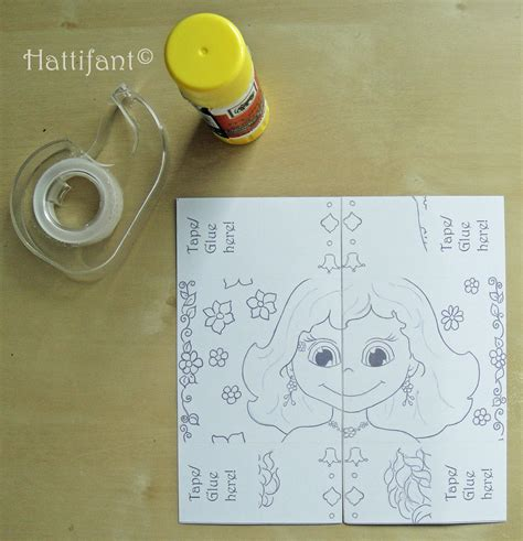 how to make a endless card hattifant s endless princesses card hattifant