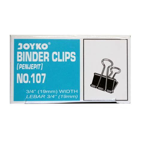 Binder Joyko No 107 binder clip 107