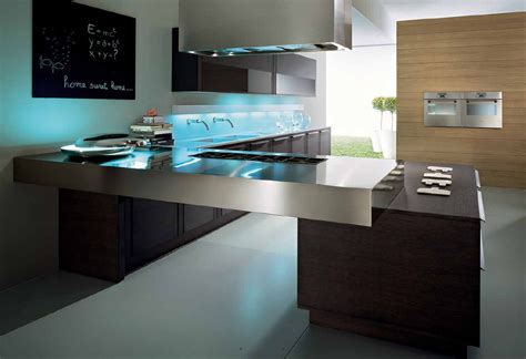 modern kitchen design idea modern custom kitchen islands afreakatheart