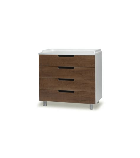 Dresser Walnut by Oeuf Classic Collection 4 Drawer Dresser In Walnut