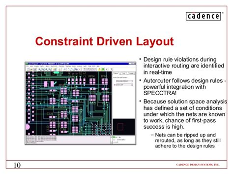 layout design rules cadence high speed pcb board design and analysis