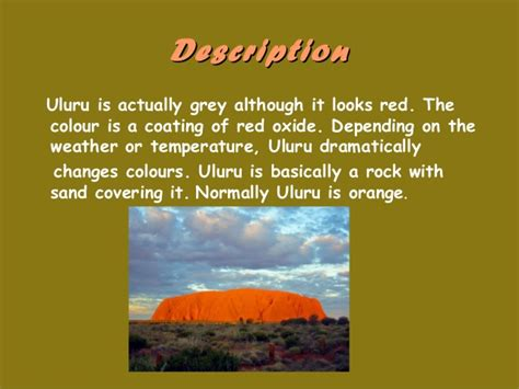 what is chagne made of what is uluru ayers rock made of know it all