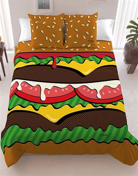 cheeseburger bed cheeseburger bedding hold the pillows hold the lettuce