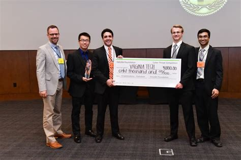 Deloitte Consulting Mba Competition 2018 by Virginia Tech Cybersecurity Team Wins Place In