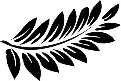 Leaf Daun Paper Flower Isi 12 Pcs free vector graphic leaf fern black frond free image