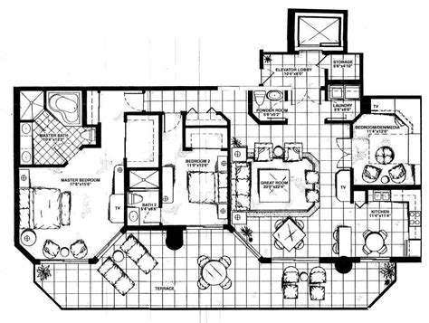 Sole Fort Lauderdale Floor Plans by Jackson Tower Floorplans