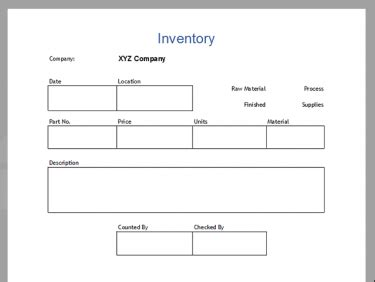 inventory labels template inventory template pack meylah