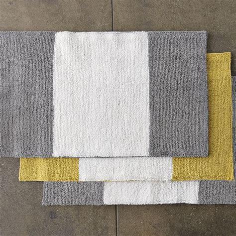 Striped Bath Mat by Stripe Bath Mat West Elm