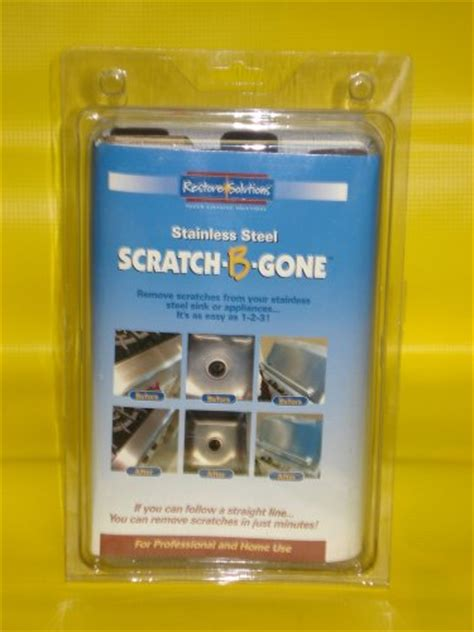 kitchen cabinet repair kit scratch b gone stainless steel scratch repair kit