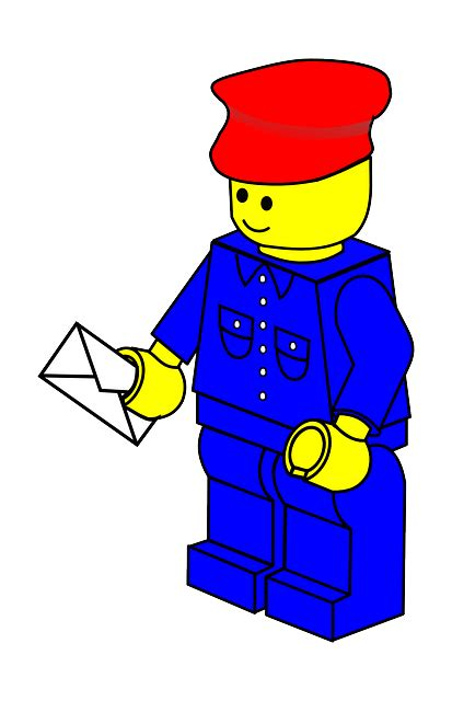 Lego Graphic 18 lego postman 183 free vector graphic on pixabay