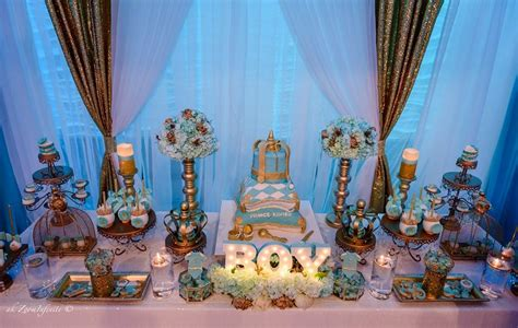 Prince Baby Shower Ideas by Baby Shower Ideas Golden Glamorous Prince Baby Shower