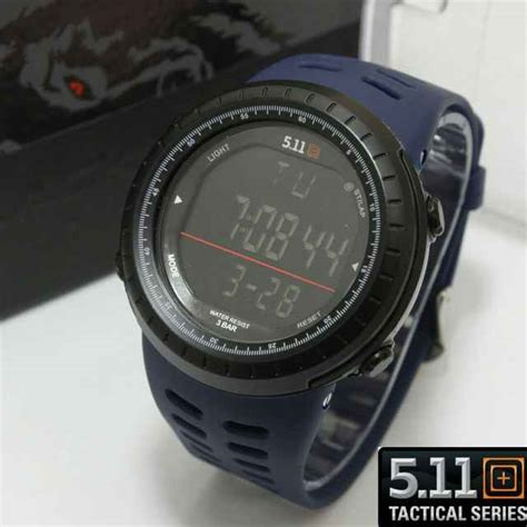 Jam Tangan 511 Army jual jam tangan 511 tactical digital black wolf series