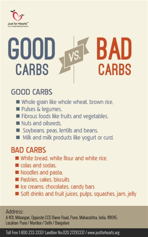 5 bad carbohydrates carbohydrates vs bad carbohydrates