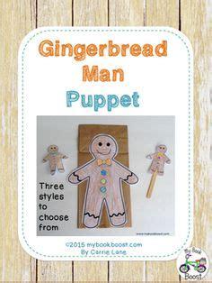 printable gingerbread man paper bag puppet gingerbread man craft activity printable paper bag puppet