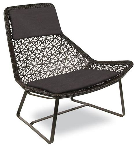 modern outdoor lounge furniture kettal maia relax armchair modern outdoor lounge