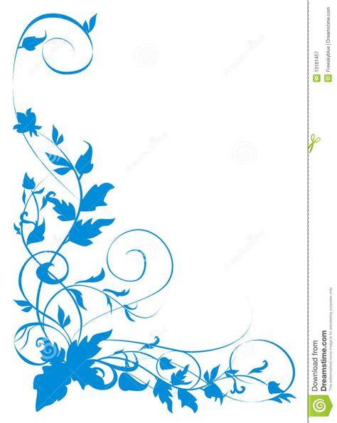 Blus Vinzo blue vines pattern stock illustration image of elegance 13181457