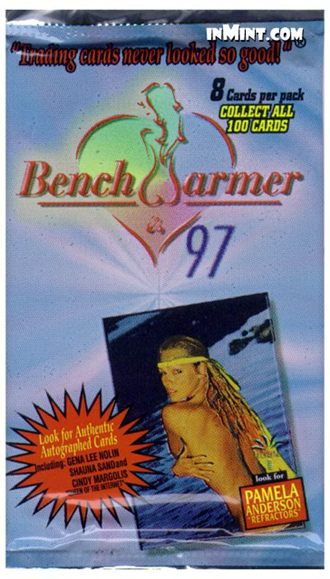bench warmer trading cards inmint com bench warmer 1997 trading cards pack 8 cards benchwarmer trading cards