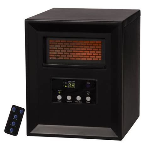 Small Infrared Heaters Home Lifesmart 1000w Lifepro Series Compact Infrared Heater
