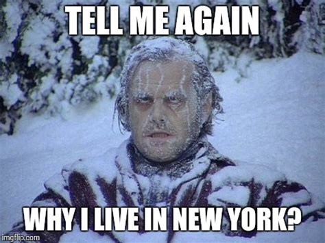 Meme Nyc - jack nicholson the shining snow meme imgflip