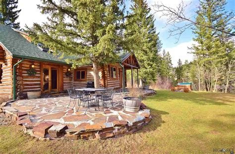 bozeman log cabins  sale log homes  bozeman