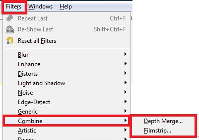 layout editor merge gimp image editor filters part two