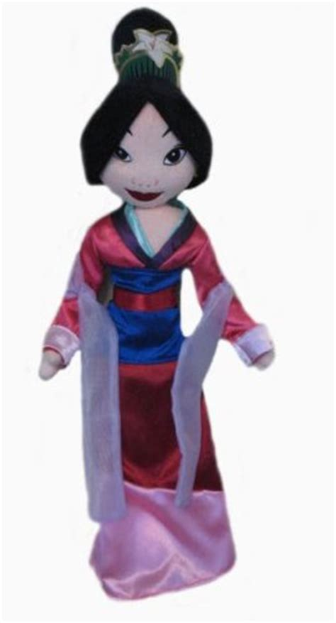 rag doll from mulan disney princes 18 quot mulan rag doll dolls outlet express