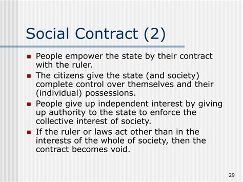 Why The Social Contract Rousseau ppt hobbes locke rousseau powerpoint presentation id 405589