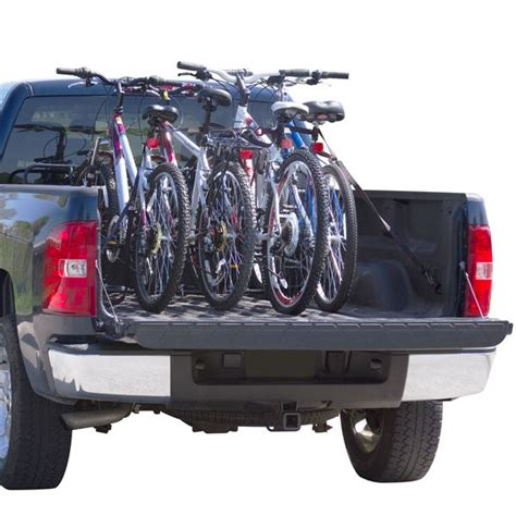 pickup bed bike rack 4 bike universal truck bicycle rack by apex discount rs