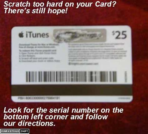 Itunes Gift Card Number - can t read the numbers on itunes gift card here s help