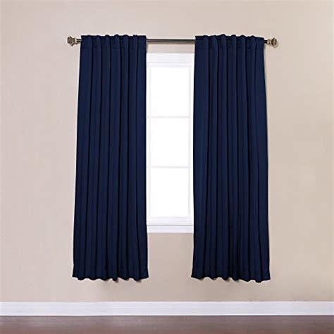 back tab blackout curtains best home fashion solid 72 navy best home fashion thermal