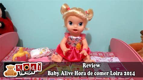 imagenes graciosas hora de comer review baby alive hora de comer loira 2014 youtube