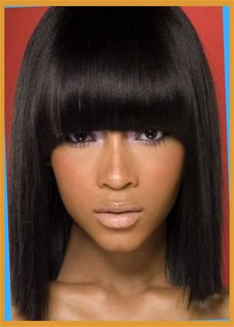 hairstyles with bangs for american awesome american hairstyles pertaining to