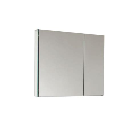 glacier bay brushed nickel medicine cabinet pegasus 24 in w x 30 in h framed recessed or surface