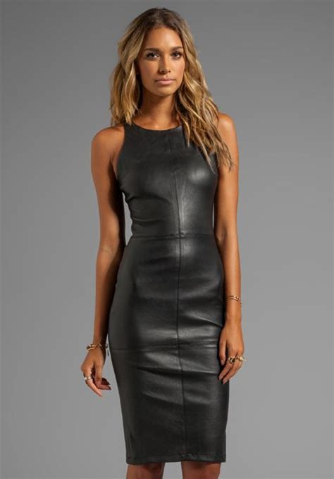 Center Cut Sleeveless Wrap Pencil Skirt Leather Dress What To Look For When Buying A Leather Sofa