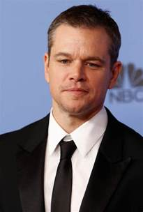 matt daomn matt damon won the 2016 golden globe for best actor in a