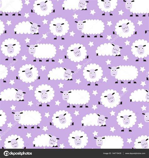 cute lamb pattern cute sleepy sheep pattern stock vector 169 scrapster