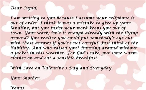 valentines letter for a letter from your s day collection 1
