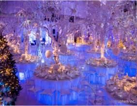 Winter Wonderland Wedding Decoration Ideas - icy blue winter wedding decor winter wonderland design inspiration pinterest