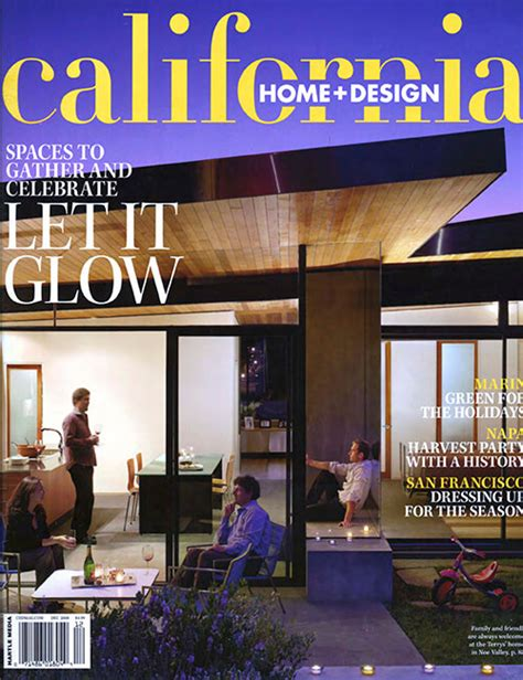 beautiful california home and design magazine images
