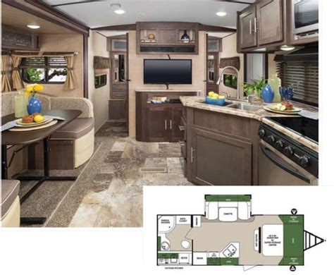 Superior Kitchen Cabinets 10 Top Travel Trailers Rv Lifestyle Magazine