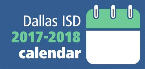 Dallas Isd Calendar Trustees Approve Dallas Isd S 2017 2018 Calendar The Hub